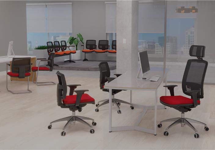 Confira os principais modelos de cadeira para escritório